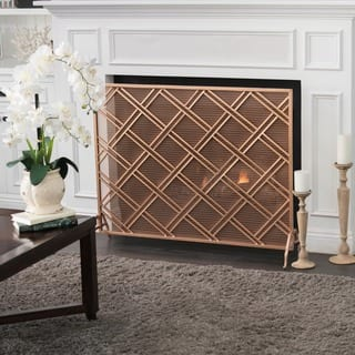 Josette Single Panel Fireplace Screen by Christopher Knight Home