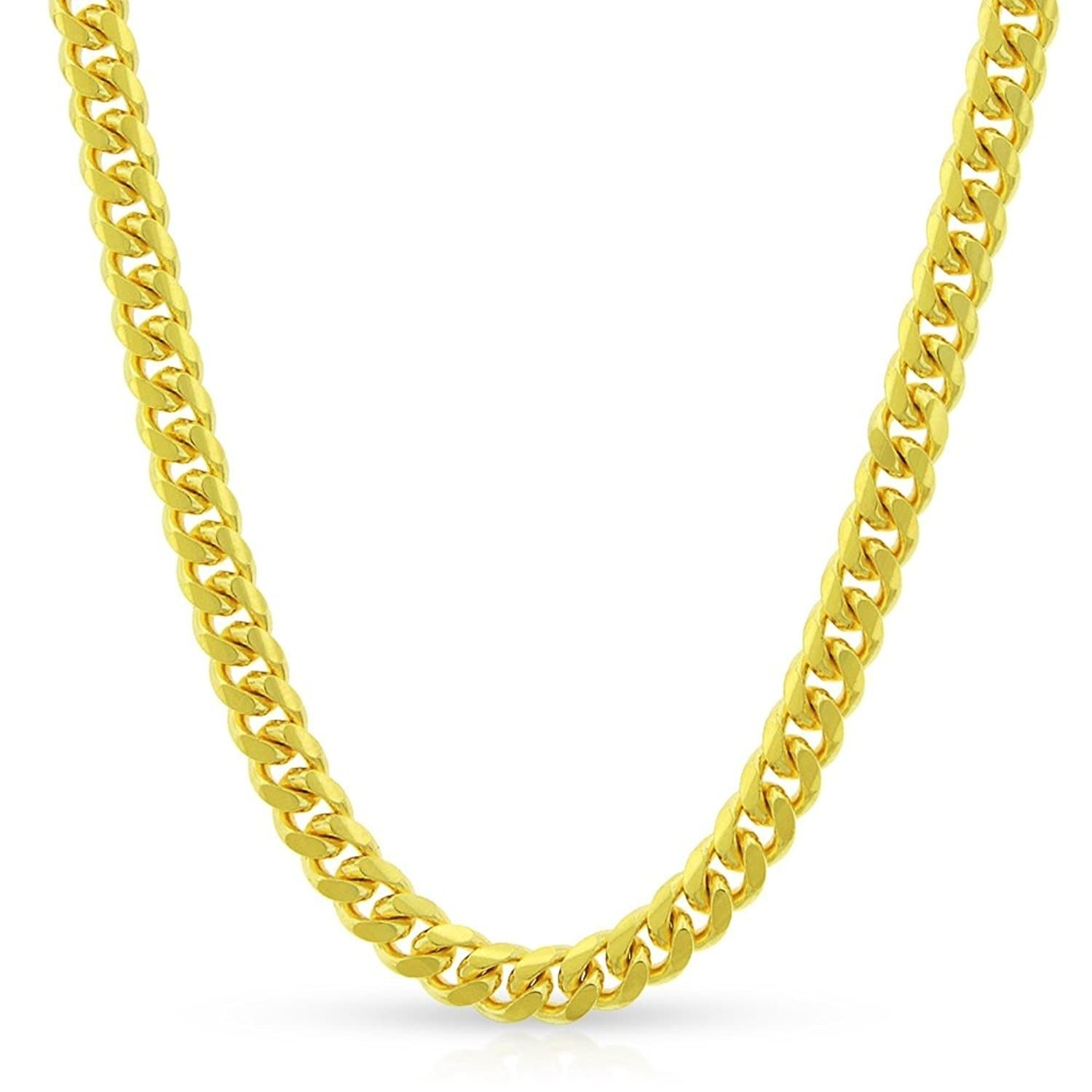Solid Italy .925 Sterling Silver 2.8mm Figaro Pave Link Italian Chain Necklace