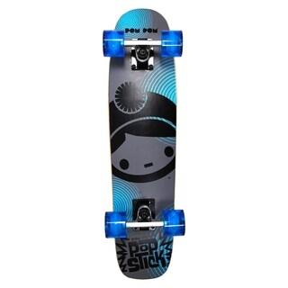 PomPom Stick Skateboard Blue