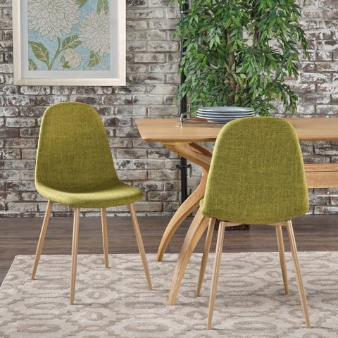 Raina Mid-century Dining Chairs (Set of 2) by Christopher Knight Home
