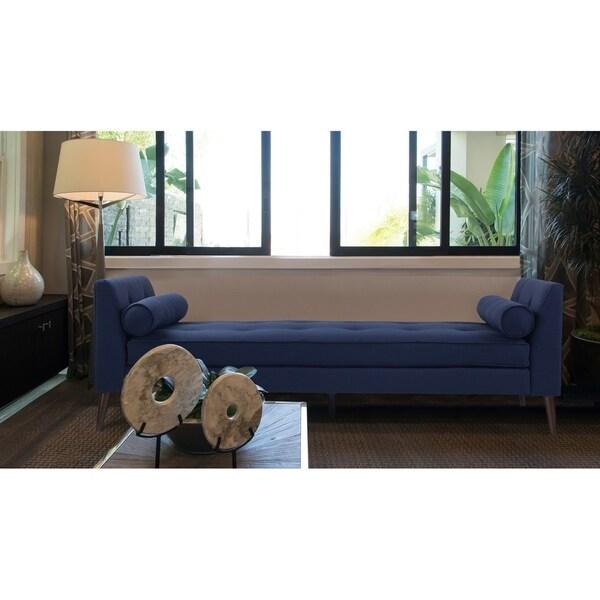 shop sandy wilson blaine tufted sofa bed on sale free shipping rh overstock com tufted sofa sleeper tufted sofa set for sale