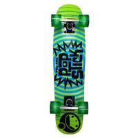 PomPom Stick Skateboard Yellow