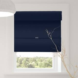 Chicology Commodore Blue Cordless Magnetic Room Darkening Roman Shades|https://ak1.ostkcdn.com/images/products/17365261/P23607153.jpg?impolicy=medium