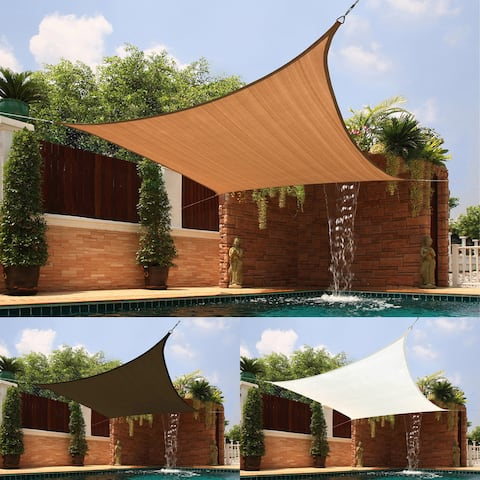 Bayville Medium Square Sail Extra-heavy Fabric Sun Shade by Havenside Home