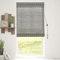 Chicology Koala Bamboo Woven Wood Privacy Roman Shades