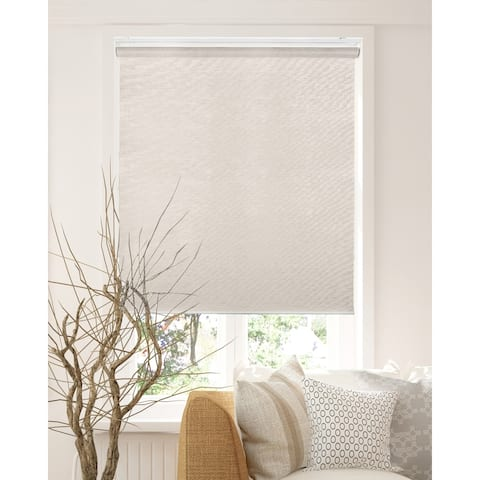 CHICOLOGY Privacy Cordless Roller Shades Snap-N'-Glide-Felton Sand