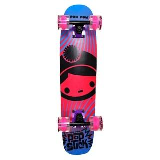 PomPom Stick Skateboard Pink