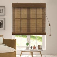Chicology Acorn Bamboo Privacy Roll Up Blinds