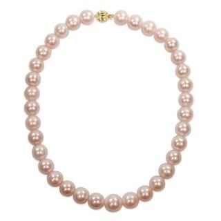 Miadora Signature Collection 14k Yellow Gold Multicolored Cultured Freshwater Graduated Pearl Necklace - Multi