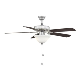 First Value Ceiling Fan Brushed Nickel/Pewter