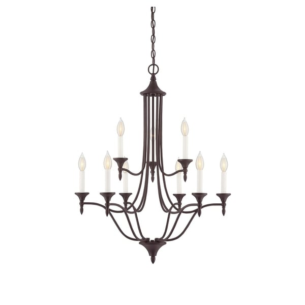 Herndon 9 Light Chandelier English Bronze