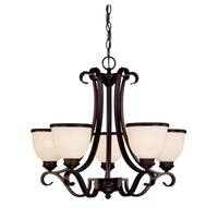 Willoughby 5 Light Chandelier English Bronze