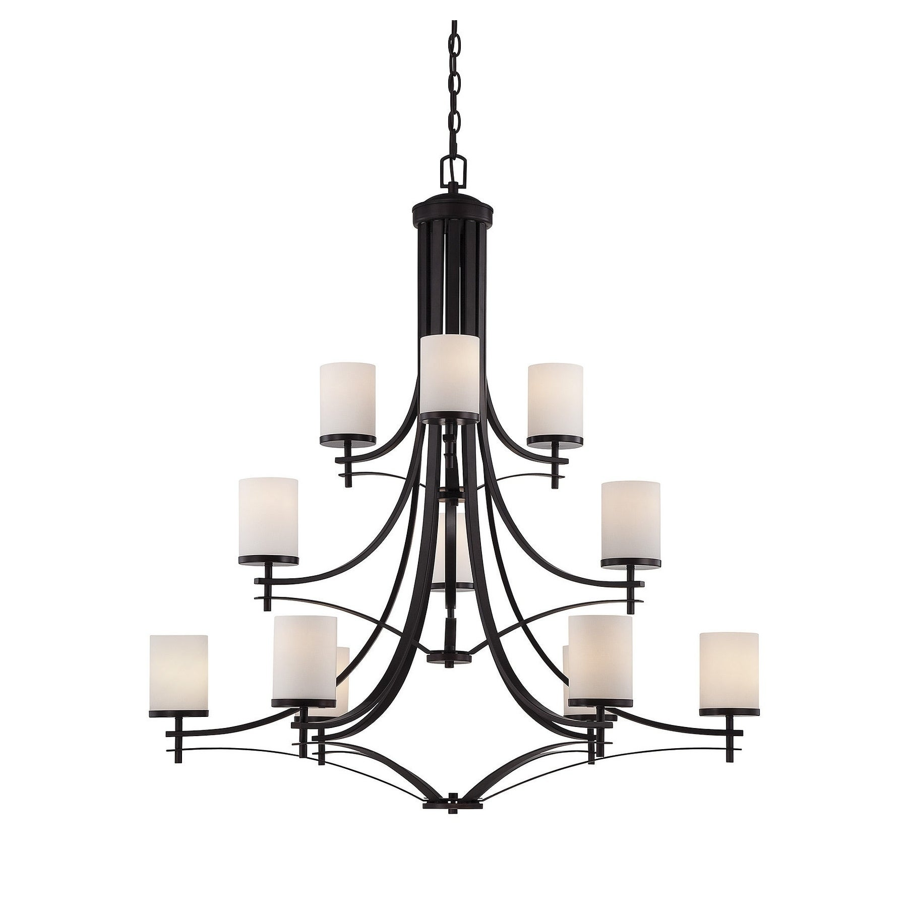 Colton 12 Light Chandelier English Bronze