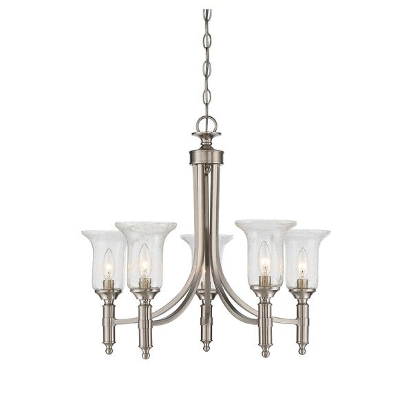 Savoy House Trudy Satin Nickel 5-light Chandelier