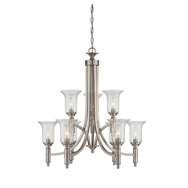 Savoy House Trudy Satin Nickel 9-light Chandelier