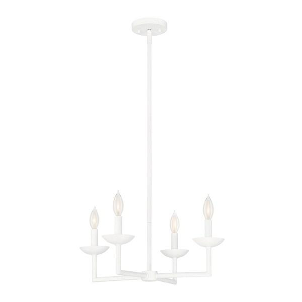 Savoy House Piper Porcellana 4-light Chandelier