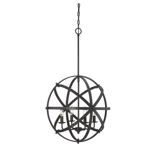 Dias Orb Pendant English Bronze