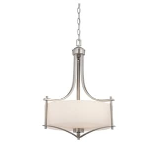 Colton 3 Light Pendant Satin Nickel - Thumbnail 0