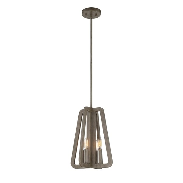 Savoy House Tribute Canyon-finished Metal Small 4-light Pendant