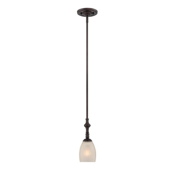 Duvall 1 Light Mini Pendant English Bronze