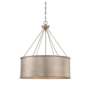 Savoy House Rochester Silver Patina 6-light Pendant