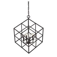 Halston 4 Light Pendant English Bronze