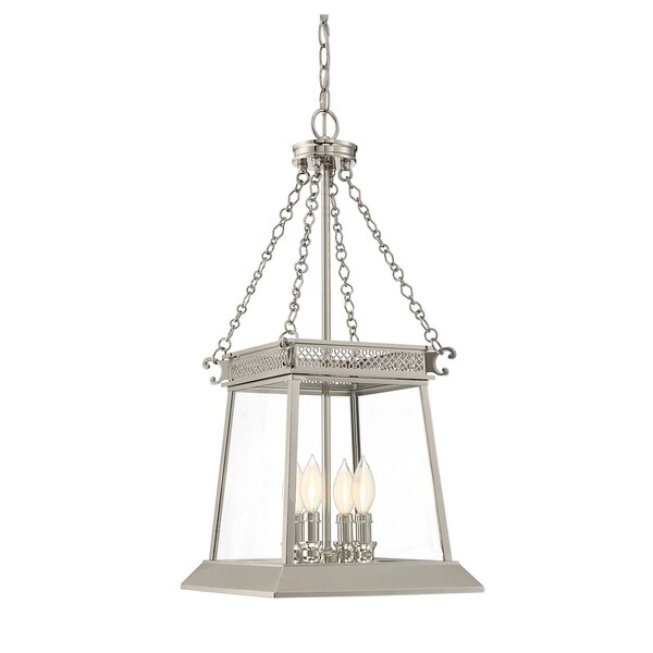 Norwich 4 Light Foyer Polished Nickel