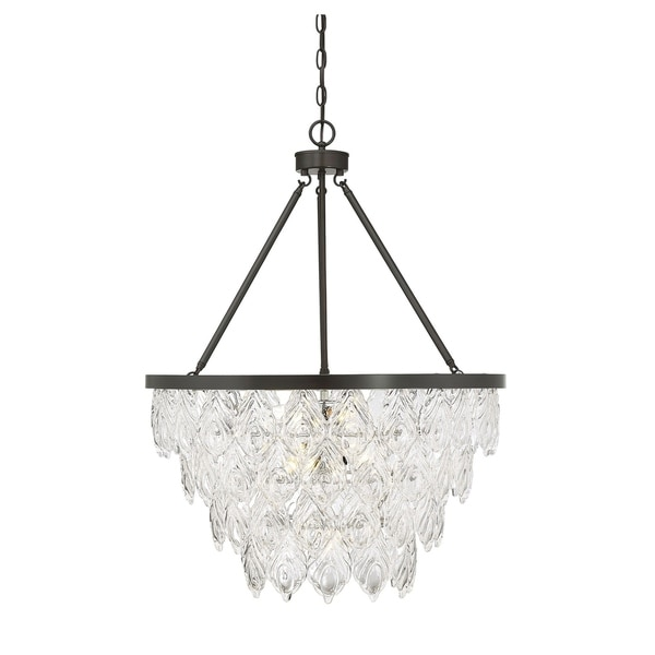 Granby 7 Light Pendant English Bronze