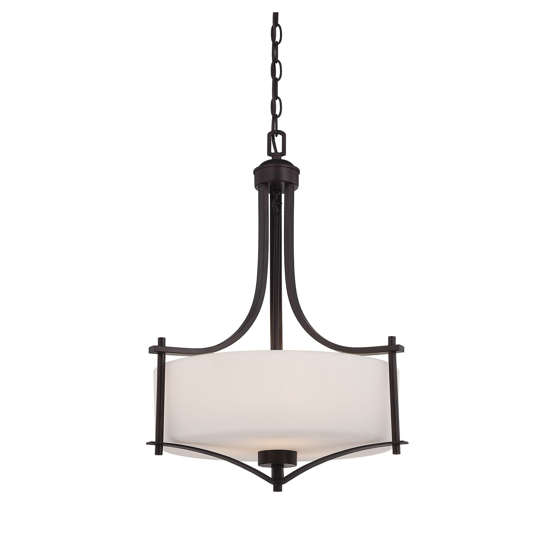 Colton 3 Light Pendant English Bronze