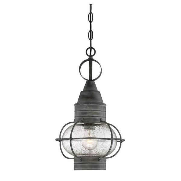 Enfield Hanging Lantern Oxidized Black