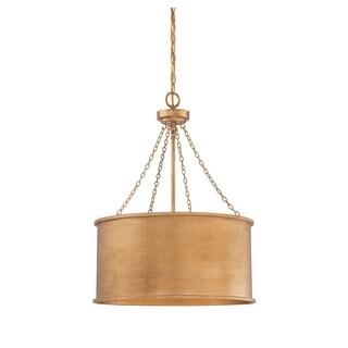 Rochester 4 Light Pendant Gold Patina - Thumbnail 0