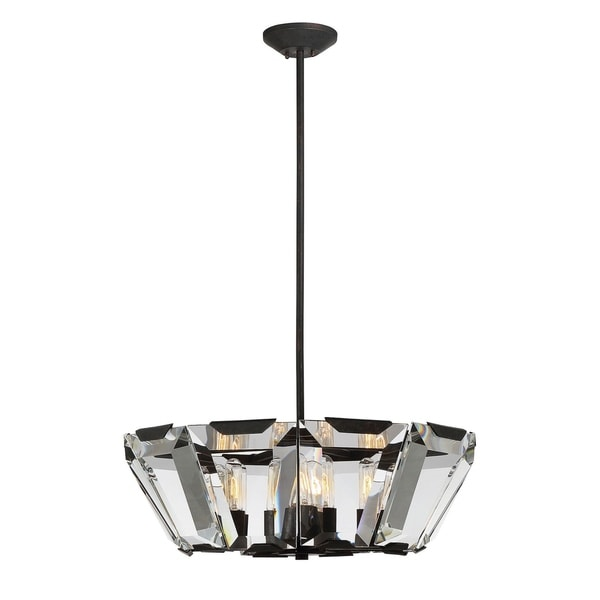 Sardis 10 Light Pendant Oiled Bronze