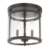 Penrose 3 Light Semi-Flush English Bronze