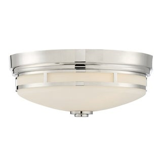 Flush Mount Polished Nickel