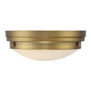 Lucerne Flush Mount Warm Brass