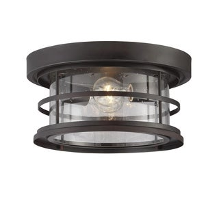 "Barrett 13"" Outdoor Ceiling Light English Bronze"