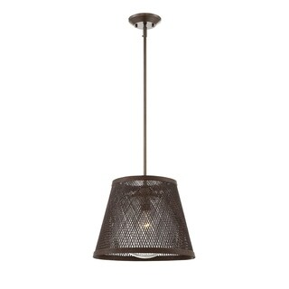 Messina 1 Light Outdoor Pendant Architectural Bronze