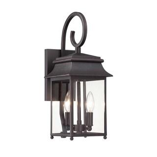 Durham Small Lantern W/ Scroll Slate