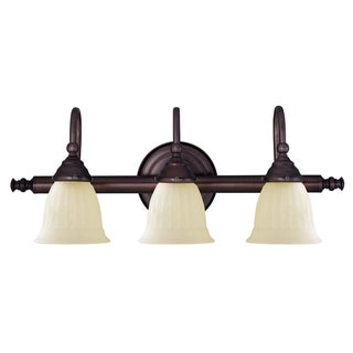 Brunswick 3 Light Bath Bar English Bronze