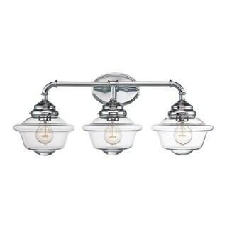 Savoy House Fairfield Bar Chrome 3-light Bath