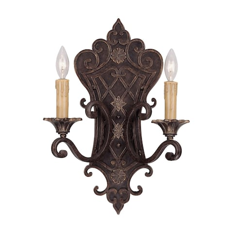 Southerby 2 Light Sconce Florencian Bronze
