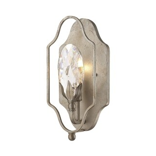 Silver Orchid Taylor Argentum and Crystal Sconce