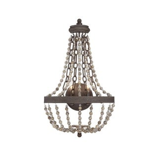 Savoy House Mallory Fossil Stone-finished 2-light Sconce
