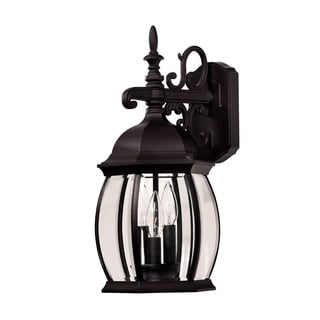 Exterior Collections Wall Mount Lantern Black