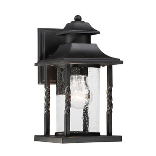 Dorado Wall Lantern Textured Black