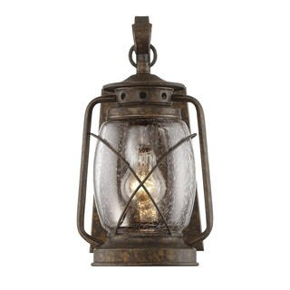 Smith Mountain Wall Lantern New Tortoise Shell