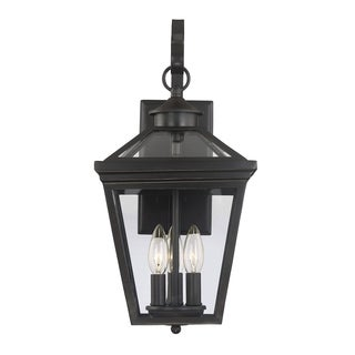 Ellijay Wall Mount Lantern English Bronze