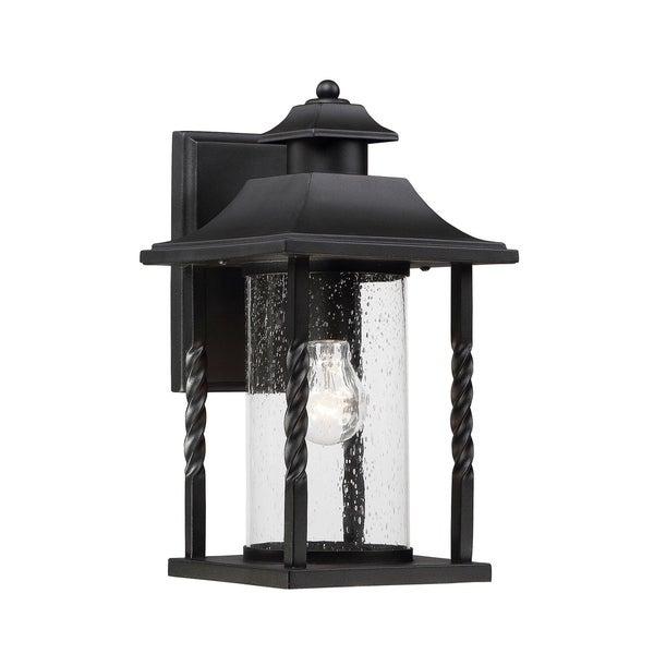 Dorado Wall Lantern Textured Black