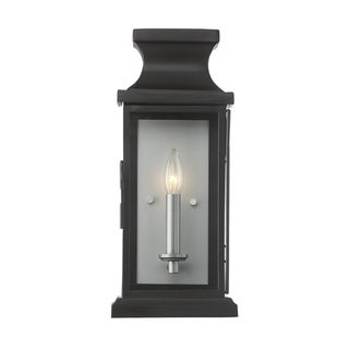 Brooke 1 Light Wall Lantern Black