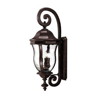 Savoy House Monticello Walnut Patina Wall-mount Lantern